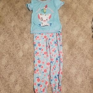 Moana Girls Pajama